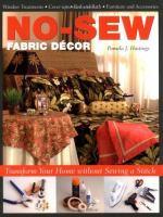 No-sew Fabric Décor