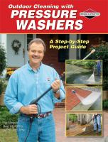 Outdoor Cleaning With Pressure Washers