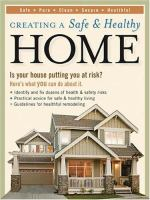 Creating A Safe and Healthy Home