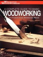 A Complete Guide to Basic Woodworking