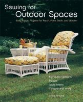 Sewing for Outdoor Spaces