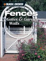 Fences, Gates and Garden Walls