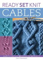 ReadySet Knit Cables
