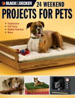 24 Weekend Projects for Pets