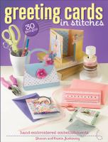 Greeting Cards in Stitches