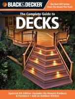 The Complete Guide to Decks