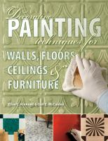 Decorative Painting Techniques book cover