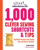 Patternreview.com 1,000 Clever Sewing Shortcuts & Tips
