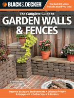 The Complete Guide to Garden Walls & Fences