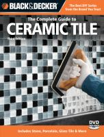 The Complete Guide to Ceramic Tile