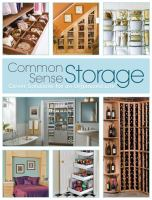 Common Sense Storage