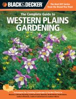 The Complete Guide to Western Plains Gardening