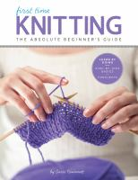 First Time Knitting