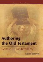 Authoring the Old Testament