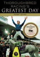 Thoroughbred Racing's Greatest Day
