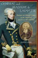 General and Madame De Lafayette