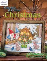 Gnome and Critter Christmas Cross Stitch Pattern