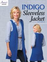 Indigo Sleeveless Jacket