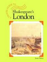 A Travel Guide to Shakespeare's London