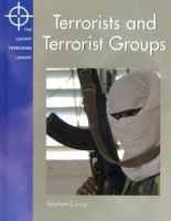 Terrorists and Terrorist Groups