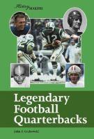 Legendary Football Quarterbacks
