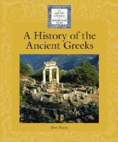 A History of the Ancient Greeks