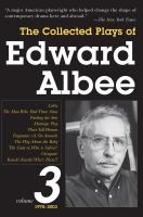 The Collected Plays of Edward Albee, 1979-2003