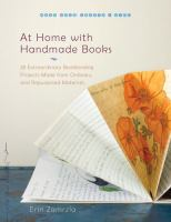 At Home With Handmade Books