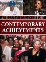 Contemporary Achievements