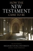 How the New Testament Came to Be