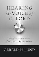 Hearing the Voice of the Lord