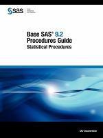 Base SAS 9.2 Procedures Guide