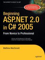 Beginning ASP.NET 2.0 in C# 2005