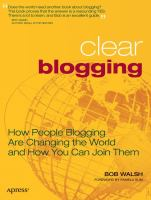 Clear Blogging