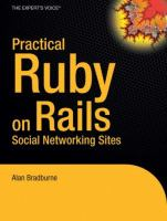 Practical Rails Social Networking Sites