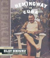 Hemingway in Cuba