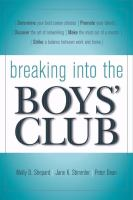 Breaking Into the Boys' Club