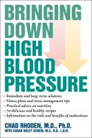 Bringing Down High Blood Pressure