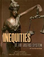 Inequities of the Justice System