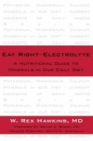Eat Right : Electrolyte
