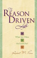 The Reason-driven Life