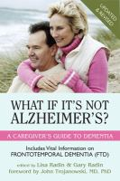 What If It's Not Alzheimer's