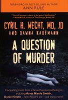 A Question of Murder