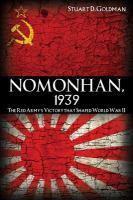 Nomonhan, 1939
