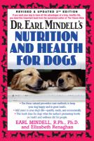 Earl Mindell's Nutrition and Health for Dogs