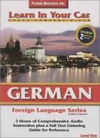 Learn in your Car German