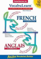 French complete/ Anglais complet