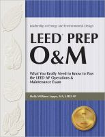 LEED Prep O&M