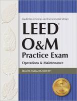 LEED O & M Practice Exam