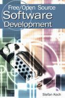 Free/open Source Software Development